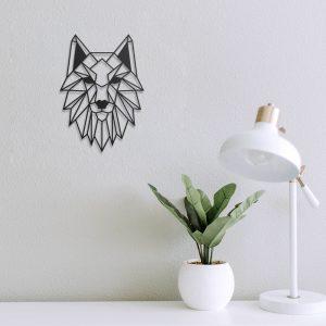 lobo mini en metal